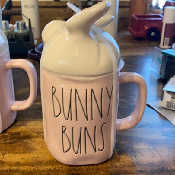 Rae Dunn Figural Bunny Buns Mug